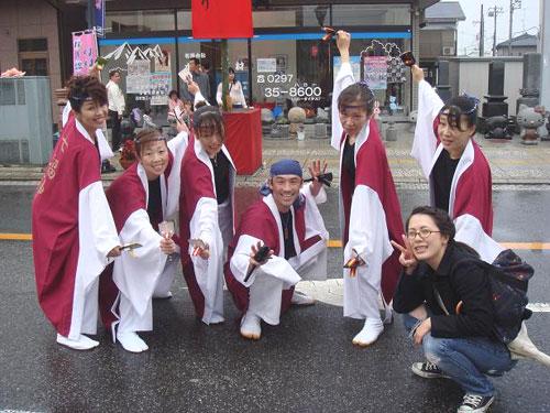 茨城県-YOSAKOI七福神様(よさこい衣装)