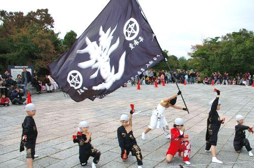 千葉県-岡元様(よさこい旗)
