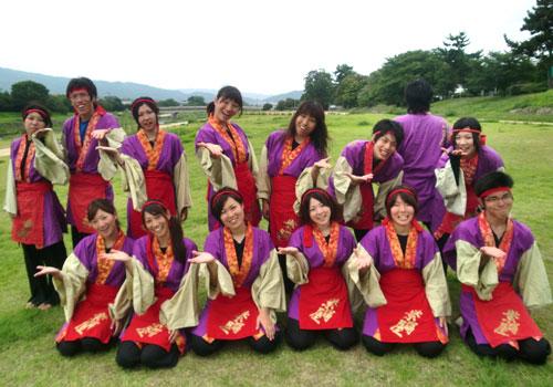 京都府-佛教大学よさこいサークル紫踊屋様お写真