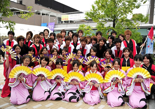 静岡県-浜松学生連-鰻陀羅様(よさこい衣装)