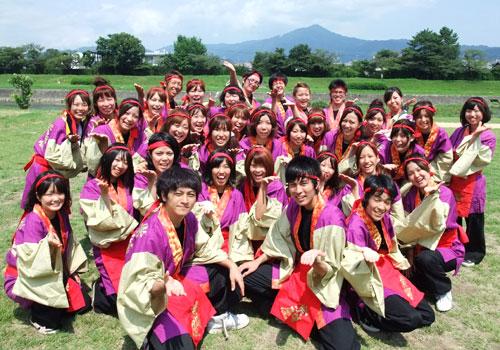 京都府-佛教大学よさこいサークル紫踊屋様(よさこい衣装)2010