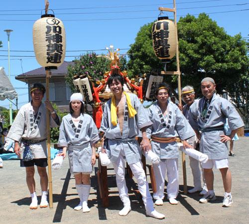 神奈川県-川神輿連様お写真