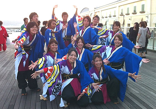 大阪府-大阪観光大学チーム明~saya~様(よさこい衣装)
