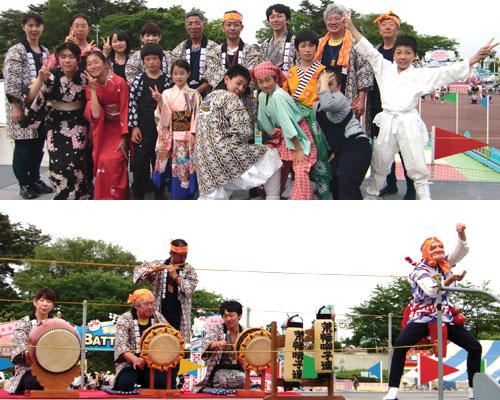 埼玉県荒幡囃子連様の半纏お写真