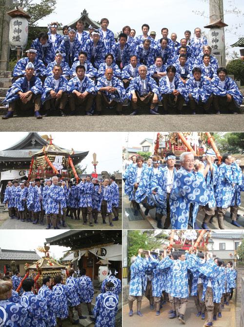 鳥取県小谷様の神輿半纏お写真
