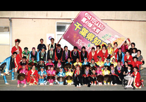 千葉県のチーム利ゑ蔵様お写真2012年8月