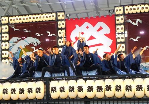千葉県の袖ケ浦市教育委員会様の長半纏お写真