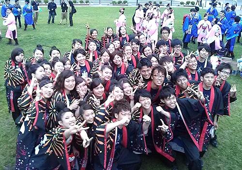 心~sin~釧路学生魂様のよさこい衣装のお写真