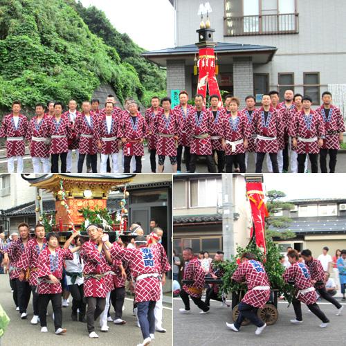 新潟県渡辺様の神輿半纏お写真