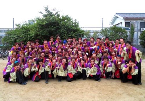 佛教大学よさこいサークル紫踊屋様から今年の写真が届きました。(2013)