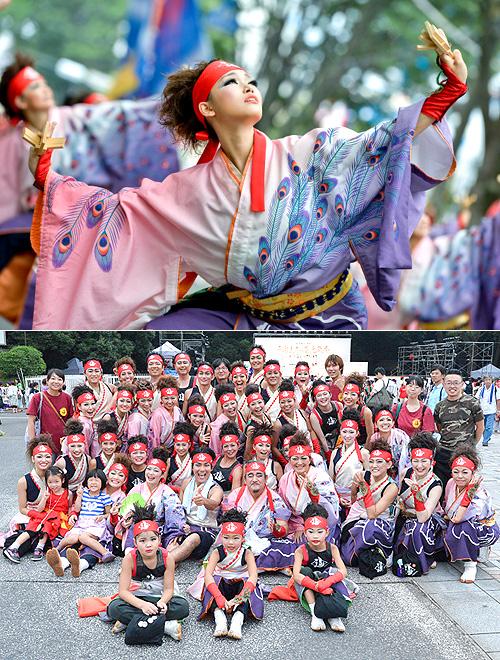ダンスパフォーマンス集団-迫-様のお写真