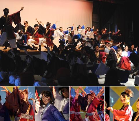 静岡県お茶ノ子祭々様の演舞写真