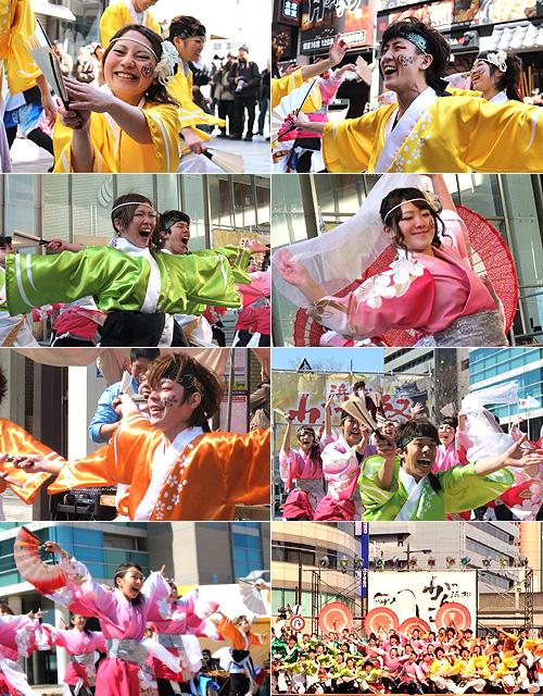 静岡大学お茶ノ子祭々様から衣装のお写真が届きました(2014年3月)