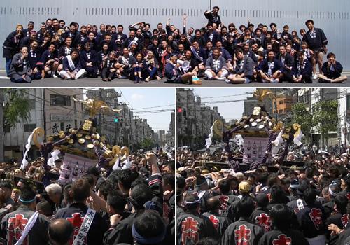 浅草大門寺島睦の三社祭でのお写真