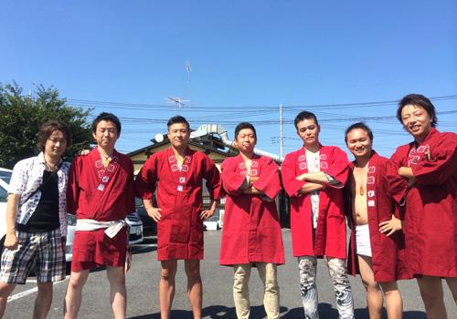茨城県の桜睦ひ組様から神輿半纏のお写真が届きました