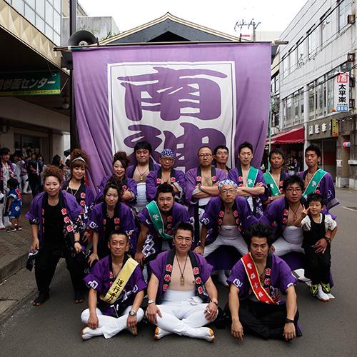 秋田県芳賀様の神輿半纏お写真