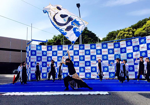 YOSAKOI心-shin-様のよさこい旗のお写真