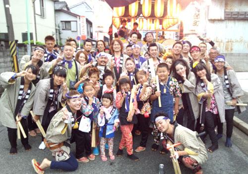 愛知県神頭町様の手ぬぐいの写真
