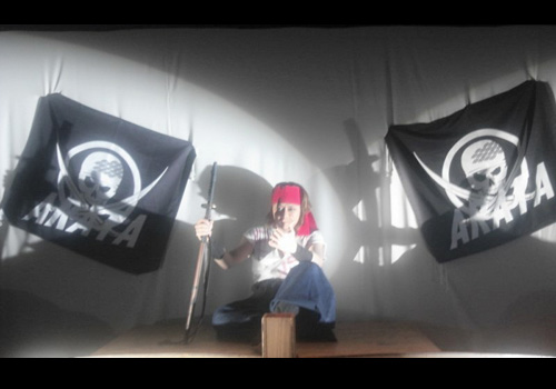 千葉県板橋様の旗の写真