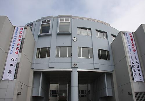 北海道留萌千望高等学校様の懸垂幕の写真