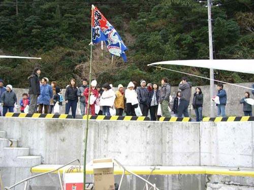 東京都の松江様の大漁旗
