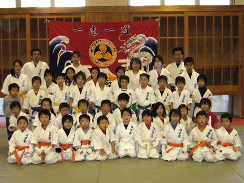 岐阜県の仰拳塾様の応援旗