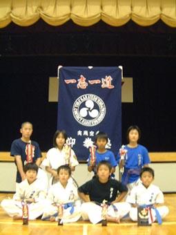 岐阜県斉藤様の応援幕の写真