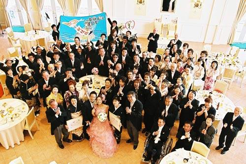 富山県たち建設株式会社様の結婚式の写真