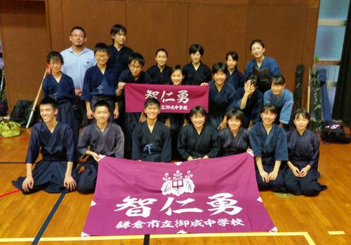 神奈川県林様の応援旗と手ぬぐいの写真