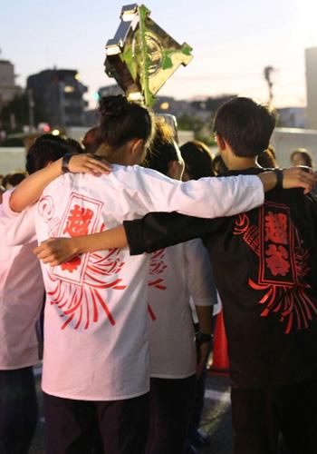 埼玉県の立正佼成会越谷教会様の鯉口シャツ