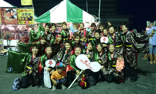 神奈川県踊人様のよさこい衣装の写真