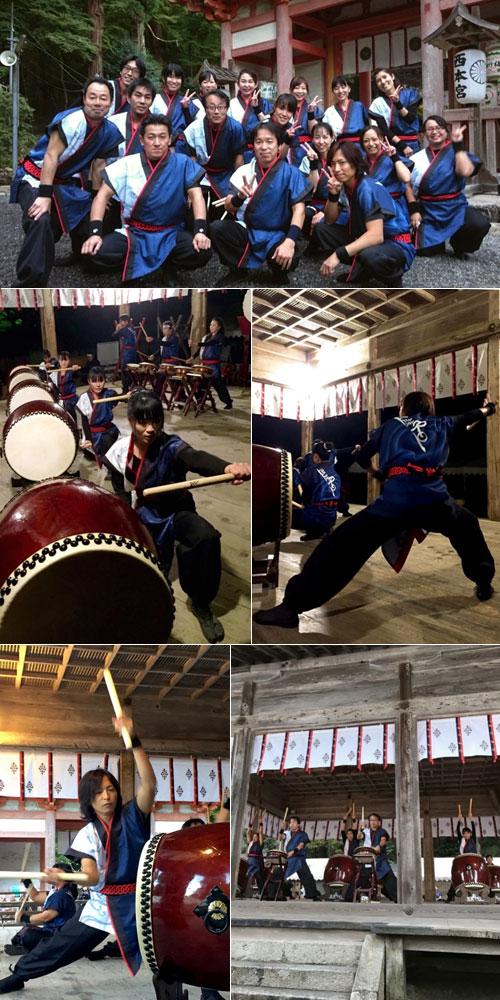 滋賀県和太鼓集団湖鼓RO様の太鼓衣装の写真