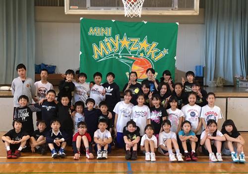 神奈川県宮崎ミニバスケットボールクラブ様の応援旗の写真
