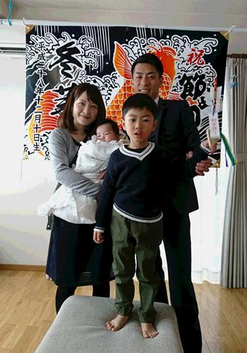 新潟県鈴木様の大漁旗の写真