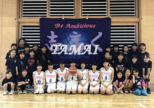 埼玉県熊谷玉井ミニバスケットボールクラブ様の写真