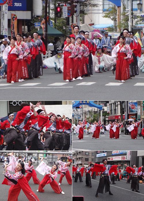千葉県HSU龍馬隊様のよさこい衣装の写真