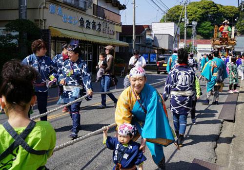 千葉県香取様の半纏の写真