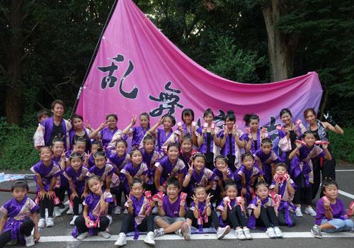 静岡県の乱舞流南様のよさこい衣装