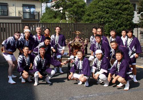 神奈川県大谷様の神輿半纏の写真
