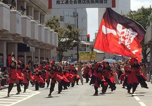 新潟県一躍様のよさこい旗
