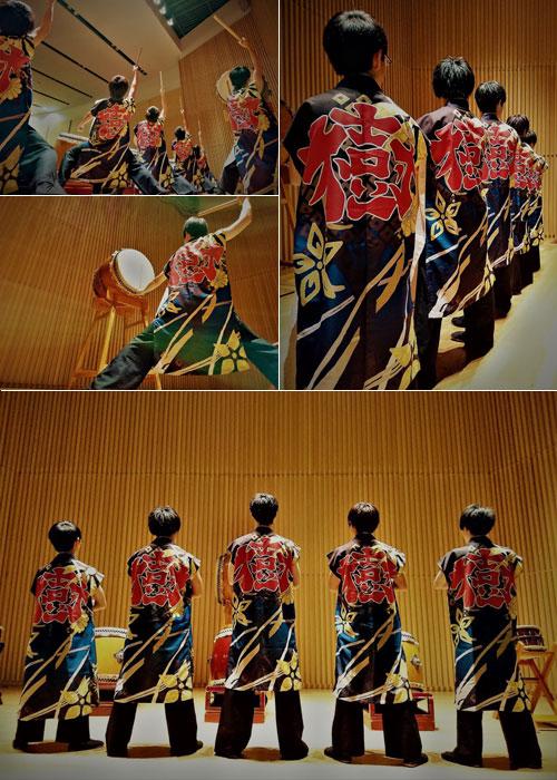 千葉県和太鼓サークル樹様の太鼓半纏の写真