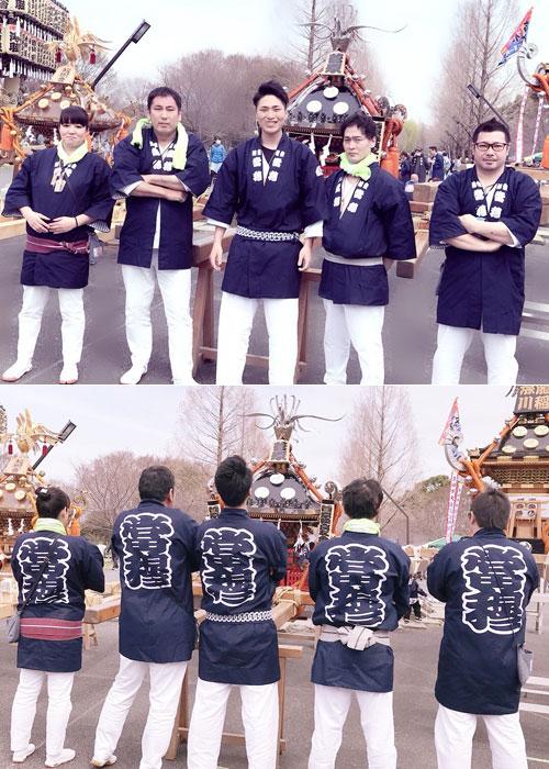 東京都の坂本様の神輿半纏