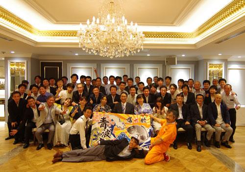 本田航空株式会社様の大漁旗