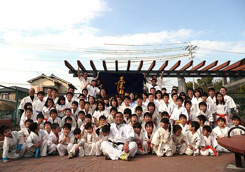 愛知県の村上様の応援旗