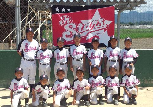 熊本県Jr.Stars様の応援旗の写真
