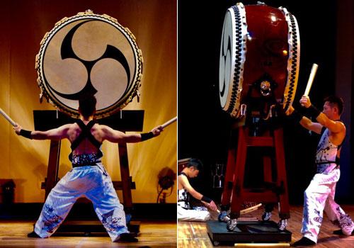 福岡県の中西様の太鼓衣装