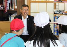 「小学生が染工場を見学・体験!」~染めを通じて日本の伝統文化に触れて~