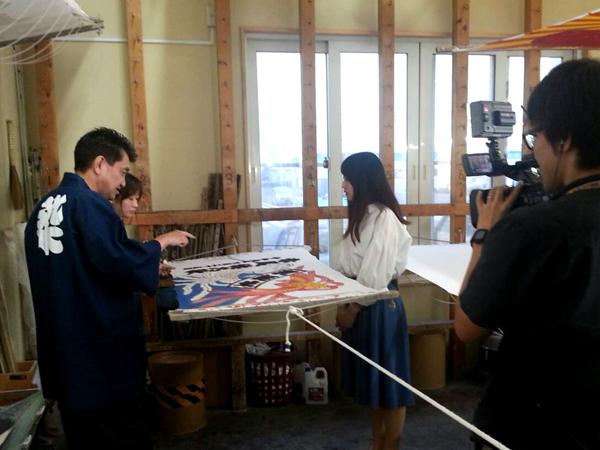 旭川のケーブルテレビ「ポテト」様に取材して頂きました!