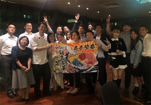 シンガポールのイベントで大漁旗~北海道フェアで日本らしさが伝わる演出~