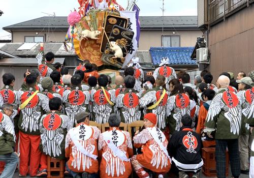 滋賀県 為心町親睦会様の半纏2